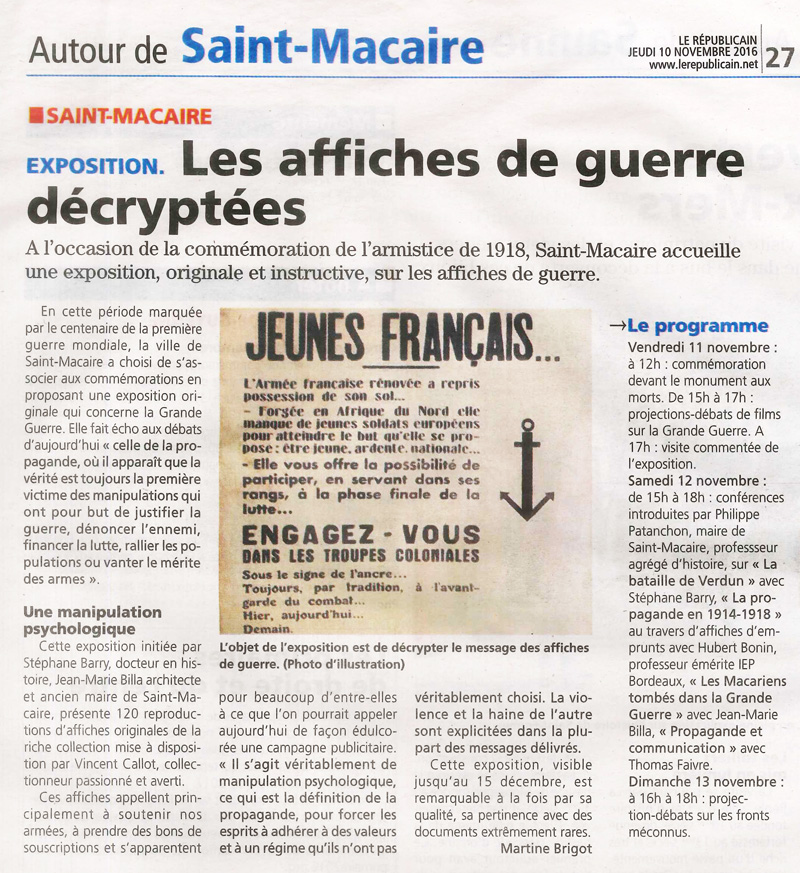 article_republicain_expo_st_macaire